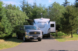 Cape Disappointment State Park Campsite #37