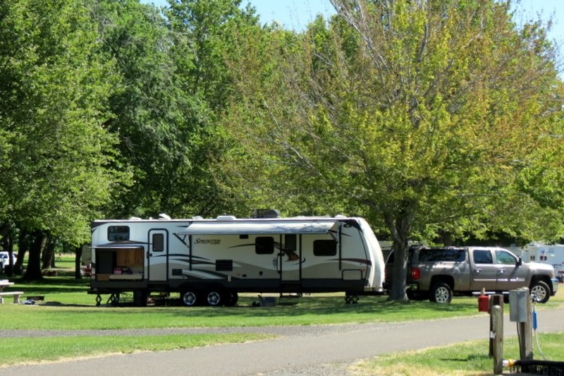 Campground Reviews-Maryhill State Park | Camping Our Way
