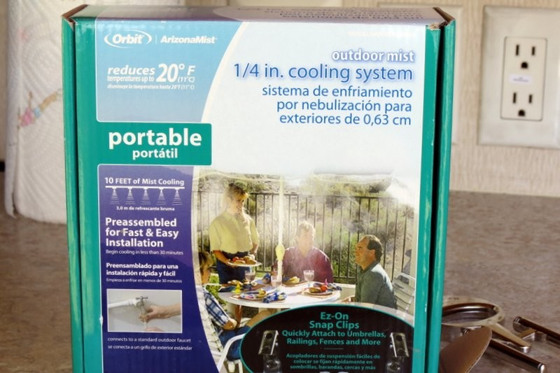 Product Review: Orbit Outdoor Mist Cooling System