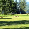 Volleyball Net & Horseshoe Pits