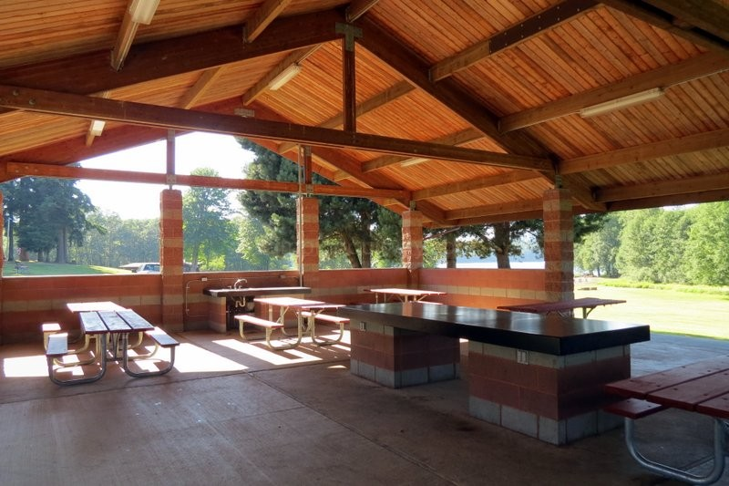 Really Nice Picnic Shelter Camping Our Way