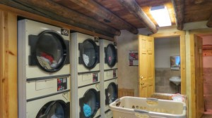 Top of the line laundry facilities