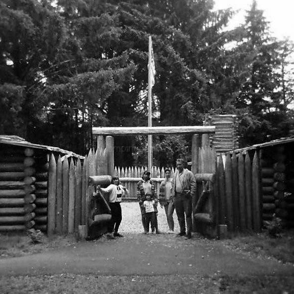 Fort Clatsop 1965 Camping Our Way